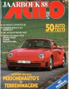 1988 AUTOVISIE JAARBOEK NEDERLANDS
