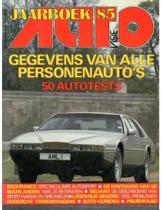 1985 AUTOVISIE JAARBOEK NEDERLANDS