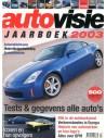2003 AUTOVISIE JAHRBUCH NIEDERLÄNDISCH