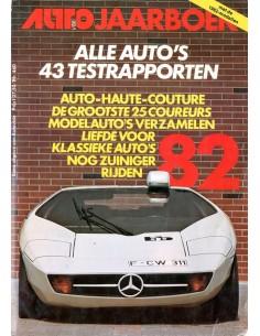 1982 AUTOVISIE JAARBOEK NEDERLANDS