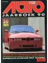 1990 AUTOVISIE JAARBOEK NEDERLANDS