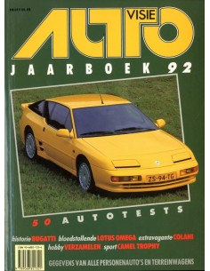 1992 AUTOVISIE JAARBOEK NEDERLANDS