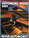 2001 AUTOMOBIL REVUE JAHRESKATALOG DEUTSCH FRANZÖSISCH