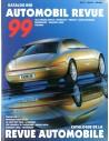 1999 AUTOMOBIL REVUE JAARBOEK DUITS FRANS