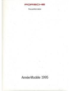 1995 PORSCHE PROGRAMMA PERSMAP FRANS