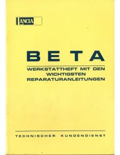 1973 LANCIA BETA WERKPLAATSHANDBOEK DUITS