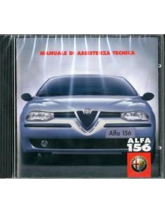 2002 ALFA ROMEO 156 BENZINE & DIESEL WERKPLAATSHANDBOEK CD