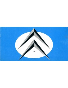 1961 CITROEN ID DS 19 BROCHURE NEDERLANDS