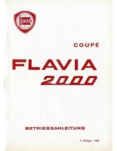 1969 LANCIA FLAVIA 2000 INSTRUCTIEBOEKJE DUITS