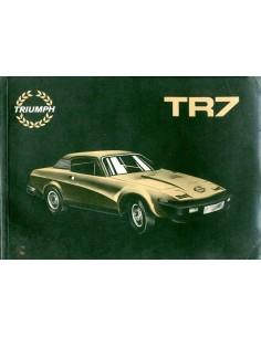 1980 TRIUMPH TR7 INSTRUCTIEBOEKJE ENGELS