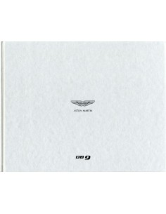 2013 ASTON MARTIN DB9 HARDCOVER BROCHURE DUITS