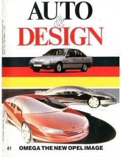1987 AUTO & DESIGN MAGAZINE ITALIAANS & ENGELS 41