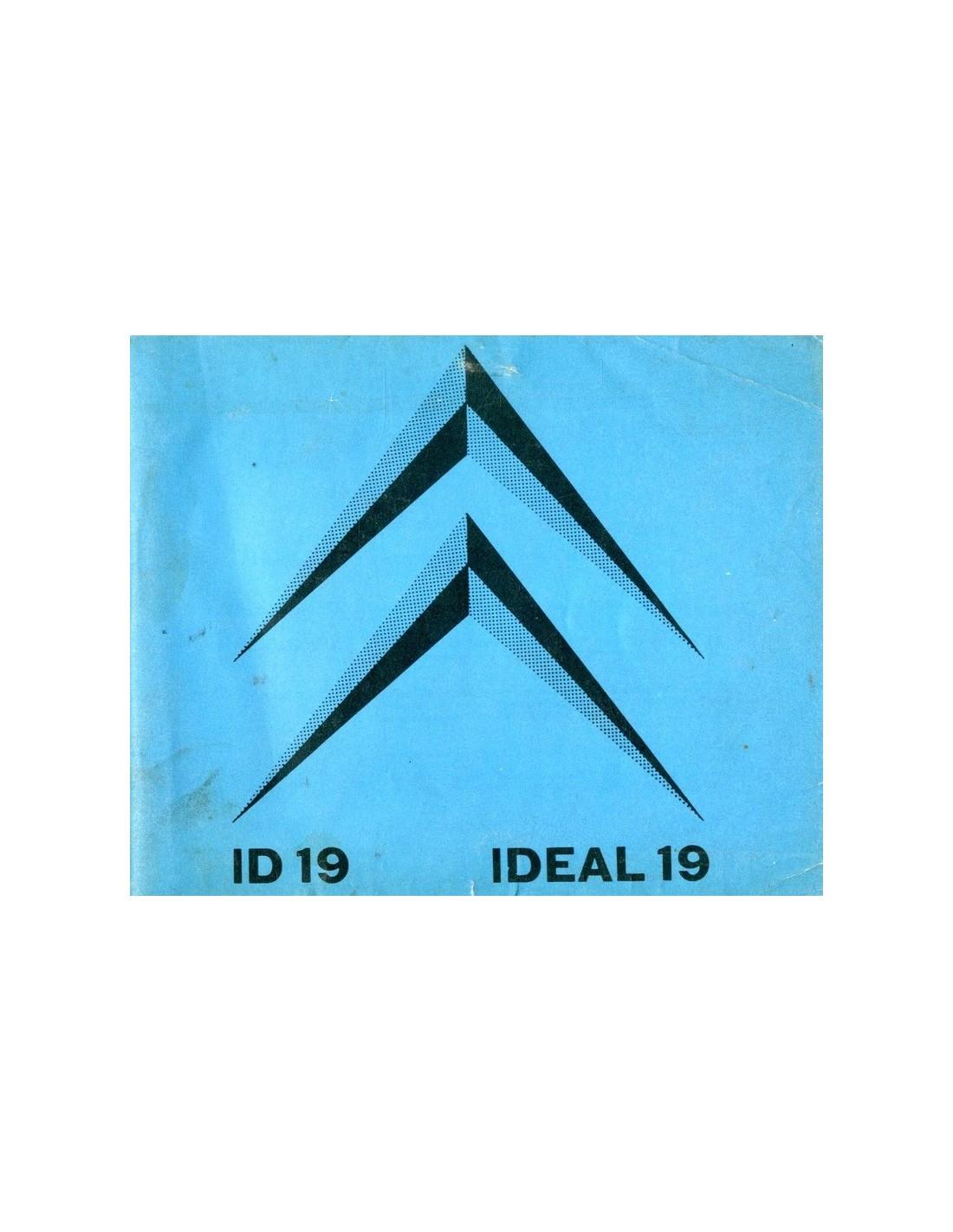 1962 citroen id 19 owner s manual dutch rh autolit eu citroen c4 owners manual Citroen C3