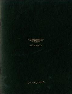 2013 ASTON MARTIN VANQUISH BROCHURE ENGELS