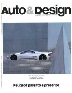 1988 AUTO & DESIGN MAGAZINE ITALIAANS & ENGELS 52