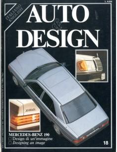 1983 AUTO & DESIGN MAGAZINE ITALIAANS & ENGELS 18