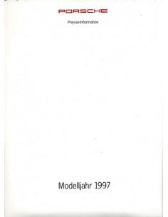 1997 PORSCHE PROGRAMMA PERSMAP DUITS