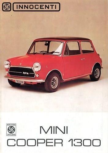 1971 innocenti mini cooper brochure dutch. Black Bedroom Furniture Sets. Home Design Ideas