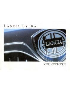 1999 LANCIA LYBRA INSTRUCTIEBOEK NEDERLANDS