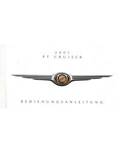 2001 CHRYSLER PT CRUISER INSTRUCTIEBOEKJE DUITS