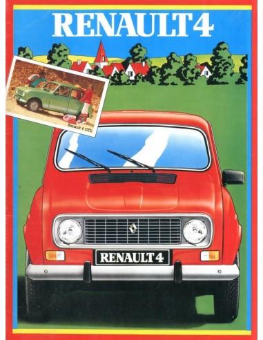 1983 RENAULT 4 BROCHURE DUITS