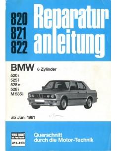 1981 - 1986 BMW 5 SERIE BENZINE VRAAGBAAK DUITS