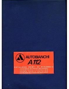 1973 AUTOBIANCHI A112 ONDERDELENHANDBOEK