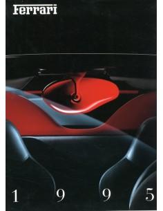 1995 FERRARI JAARBOEK ENGELS 1022/95
