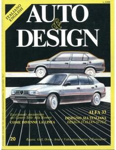 1983 AUTO & DESIGN MAGAZINE ITALIAANS & ENGELS 20