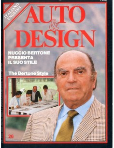 1984 AUTO & DESIGN MAGAZINE ITALIAANS & ENGELS 26
