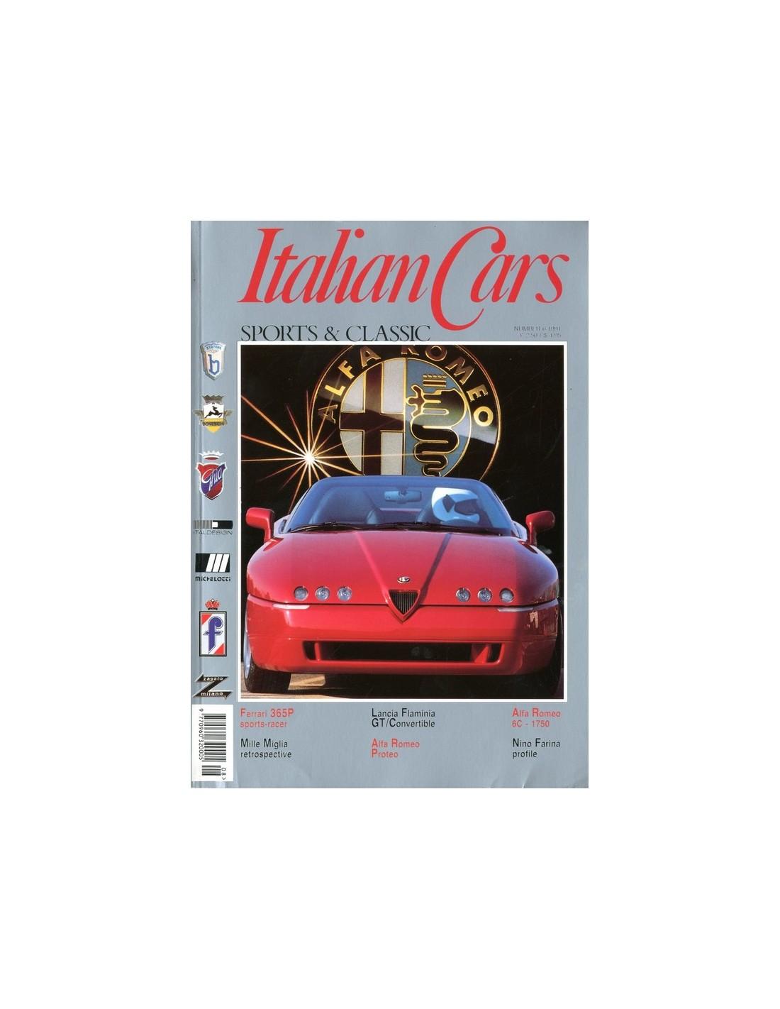 1991 ITALIAN CAR SPORTS & CLASSIC MAGAZINE ENGLISH 6