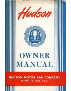 1948 HUDSON SUPER SIX EIGHT COMMODORE INSTRUCTIEBOEKJE ENGELS