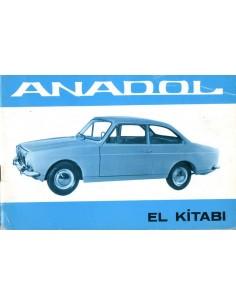 1966 ANADOL EL KITABI INSTRUCTIEBOEKJE TURKS