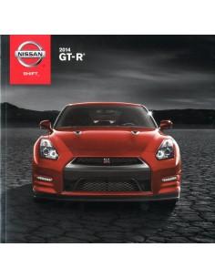 2014 NISSAN GT-R BROCHURE ENGELS USA