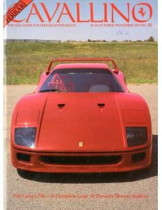1987 FERRARI CAVALLINO MAGAZINE USA 41