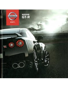 2012 NISSAN GT-R HARDCOVER BROCHURE DUITS