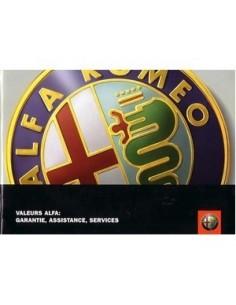 2005 ALFA ROMEO ONDERHOUDSBOEKJE FRANS