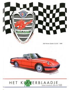2004 ALFA ROMEO CLUB HET KLAVERBLAADJE 105 NEDERLANDS