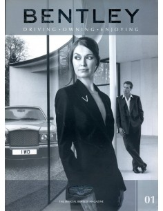 2001 BENTLEY MAGAZINE SPRING 01