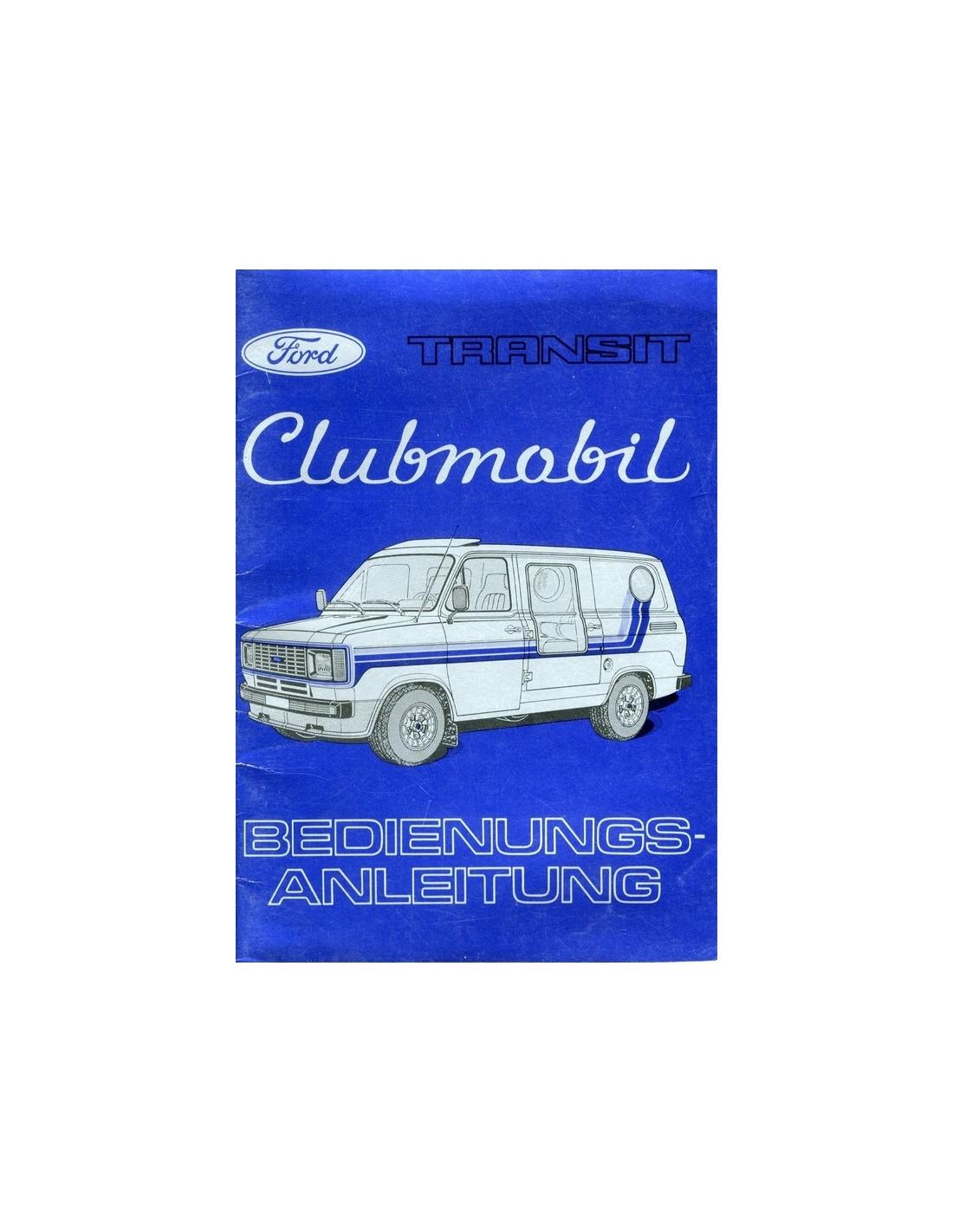 1980 ford transit clubmobil owners manual handbook german rh autolit eu transit owners manual pdf 2008 ford transit owner's manual