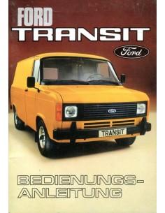 1978 FORD TRANSIT INSTRUCTIEBOEKJE DUITS