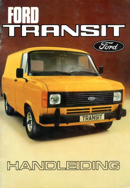 ford transit owners manual dutch