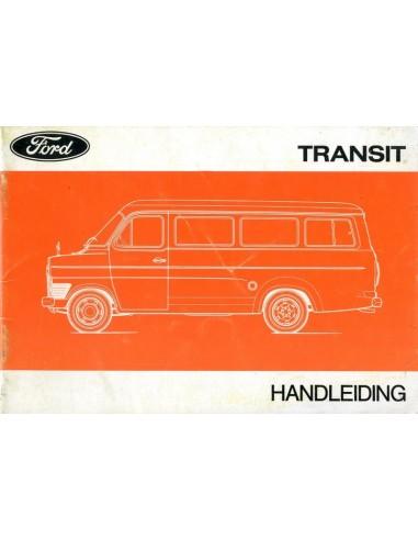 Ford Transit Instructieboekje Nederlands