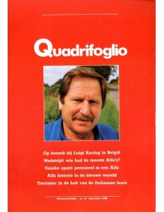 1986 ALFA ROMEO QUADRIFOGLIO MAGAZINE 15 NEDERLANDS
