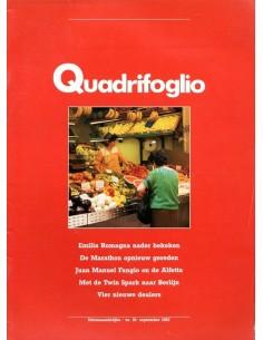 1987 ALFA ROMEO QUADRIFOGLIO MAGAZINE 19 NEDERLANDS