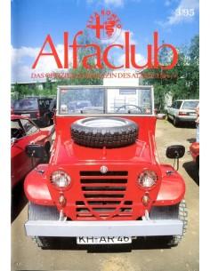 1995 ALFA ROMEO ALFCLUB DUITSLAND MAGAZINE DUITS