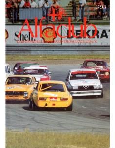 1993 ALFA ROMEO ALFCLUB DUITSLAND MAGAZINE DUITS