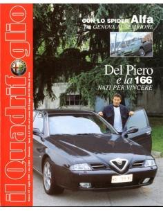 1999 ALFA ROMEO IL QUADRIFOGLIO MAGAZINE 67 ITALIAANS