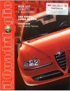 2000 ALFA ROMEO IL QUADRIFOGLIO MAGAZINE 73 ITALIAANS
