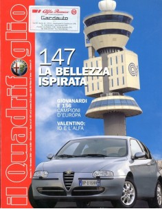 2000 ALFA ROMEO IL QUADRIFOGLIO MAGAZINE 75 ITALIAANS